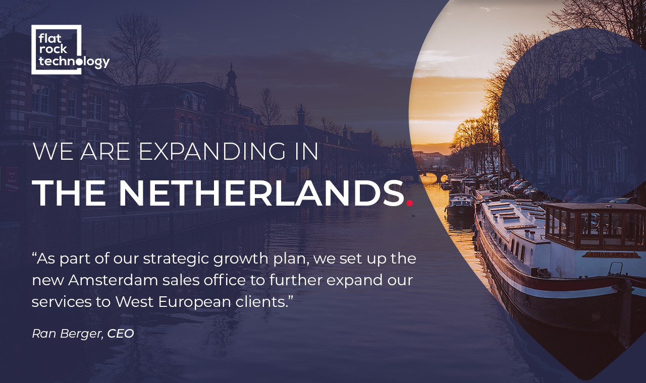 Flat Rock Technology expands in Amsterdam