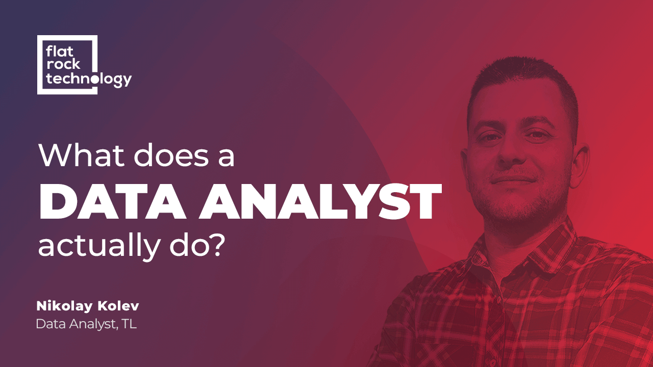 what does a data analyst do?